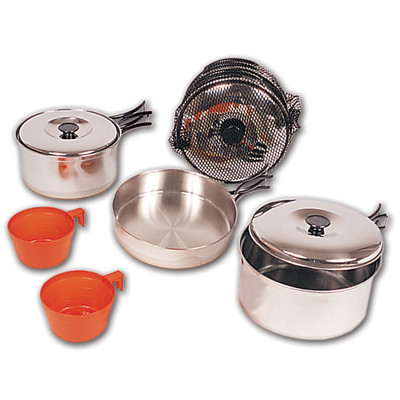 732A Stainless Steel Cookset