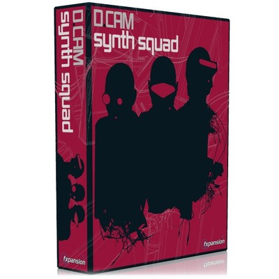 Fxpansion DCAM Synth Squad - FXpansion - FXSS001