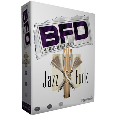 Software Fxpansion Jazz&Funk Drum Kits - FXpansion - JAZZ&FUNK