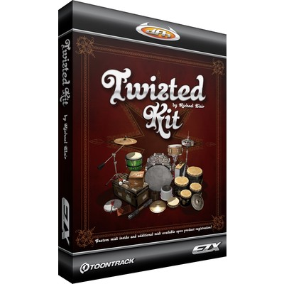 Toontrack Twisted Kit EZX Expansion Pack - Toontrack - TT113SN
