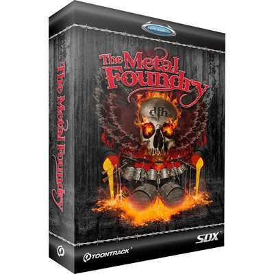 Software Toontrack Metal Foundry SDX - Toontrack - TT123