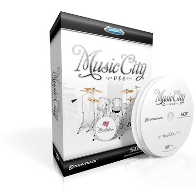 Toontrack Music City USA SDX - Toontrack - TT134