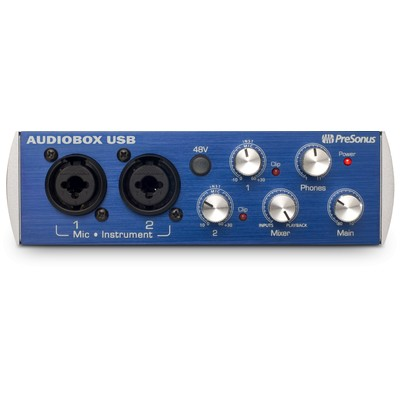 PreSonus AudioBox USB 2x2 USB Recording System - PreSonus - AUDIOBOX-USB