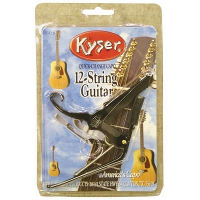 Kyser KG12B 12 String Guitar Capo - Black - Kyser - KG12BA