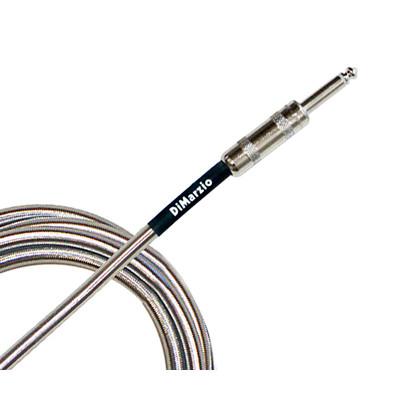 Dimarzio 18ft Metallic Silver Guitar/Instrument Cable - EP1718SM - Dimarzio - EP-1718SM
