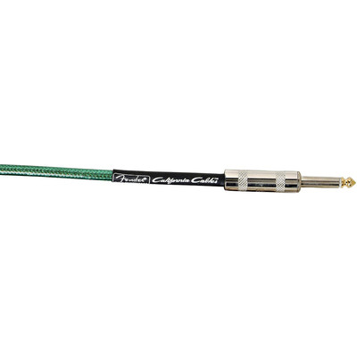 Fender California Instrument Cable - 10', Lake Placid Blue - Fender - 099-0510-002
