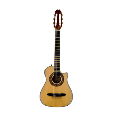 BeaverCreek BCRB501CE-C Travel Size Classical Guitar - Natural - BeaverCreek Guitars - BCRB501CE-C