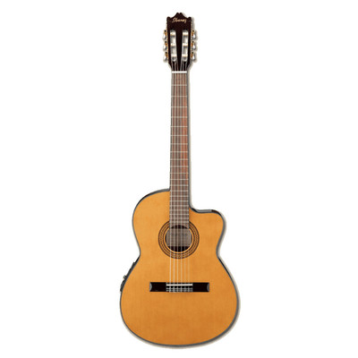 Ibanez GA5TCE Acoustic Guitar - Amber High Gloss - Ibanez
