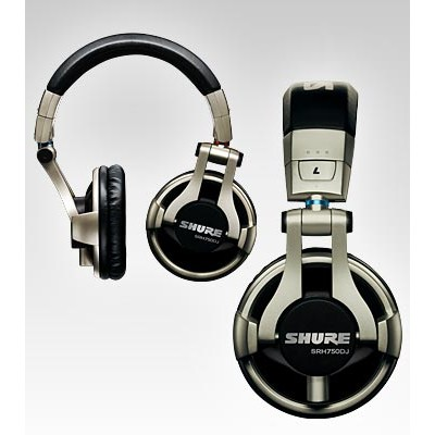 Headphones Shure SRH750DJ DJ Headphone - Shure - SRH750DJ (042406171595)