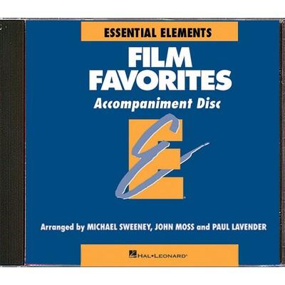 Music Essential Elements Film Favorites - CD Accompaniment - Hal Leonard - 00860158