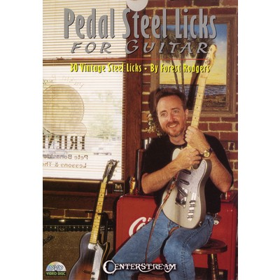DVD Pedal Steel Licks for Guitar - Rodgers, Forest (GD)