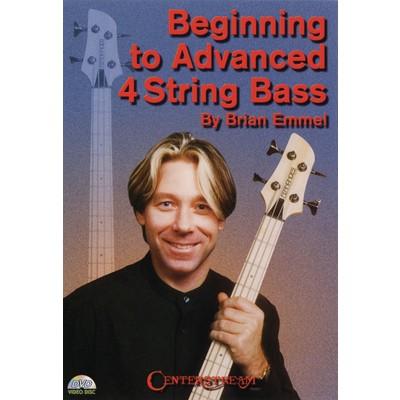 DVD Beginning to Advanced 4 String Bass (GD)