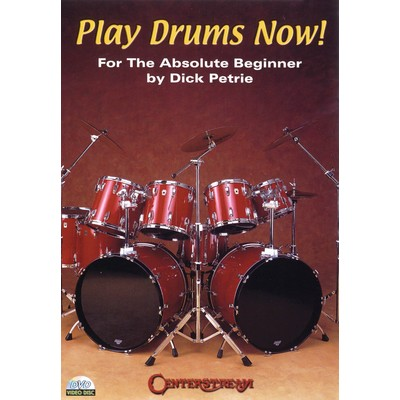 DVD Play Drums Now - Petrie, Dick (Centerstream) (DD)