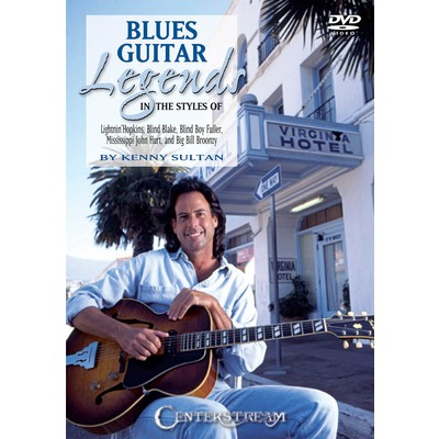 DVD Blues Legends Guitar (GD)