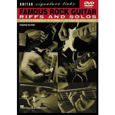 DVD Famous Rock Guitar Riffs & Solos (GD)