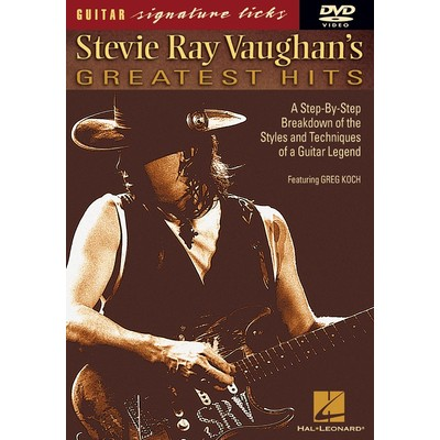 DVD Guitar Signature Licks Stevie Ray Vaughan Greatest (GD)