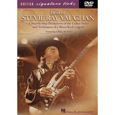 DVD Guitar Signature Licks Best of Stevie Ray Vaughan (GD)