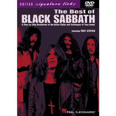 DVD Guitar Signature Licks Best of Black Sabbath (GD)