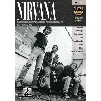 DVD Guitar Play Along Vol.11  - Nirvana  (GD)