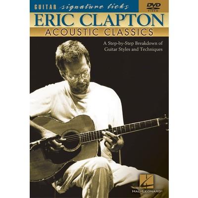 DVD Guitar Sigature Licks - Eric Clapton Acoustic (GD)