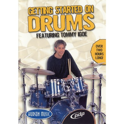 DVD Igoe Tommy - Getting Started on Drums (DD)