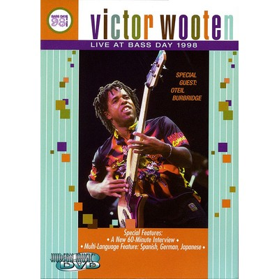 DVD Victor Wooten Live at Bass Day 1998 (GD)