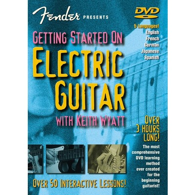 DVD Fender Presents Getting Started on Electric Guitar (GD)