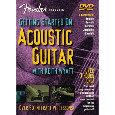 DVD Fender Presents Getting Started on Acoustic Guitar (GD)