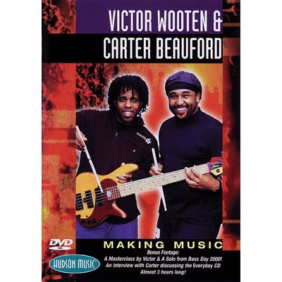 DVD Wooten & Beauford Making Music (DD)