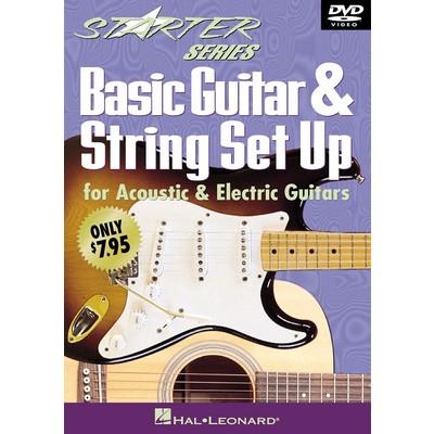DVD Basic Guitar & String Set Up (GD)