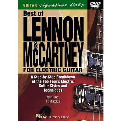 DVD Guitar Signature Licks Lennon & McCartney Electric (GD)