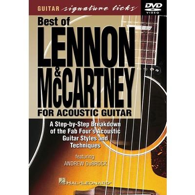 DVD Guitar Signature Licks - Lennon & McCartney (GD)