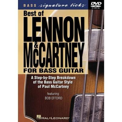 DVD Bass Signature Licks Best of Lennon & McCartney (GD)