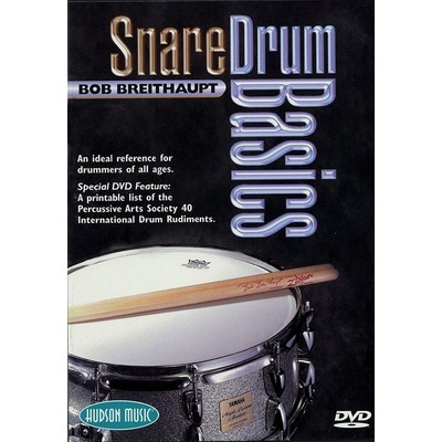 DVD Snare Drum Basics (Breithaupt, Bob) (DD)
