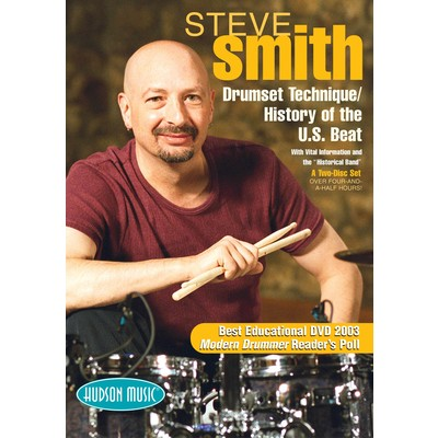 DVD Steve Smith Drumset Technique History of US Beat (DD)