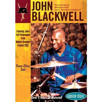 DVD Blackwell John - Technique Grooving & Showmanship(DD)