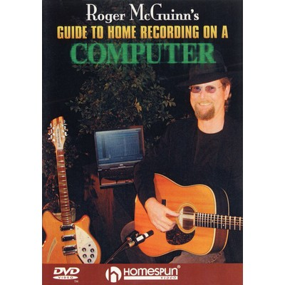 DVD McQuinn Roger - Home Recording on Computer (PAD)