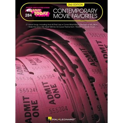 Music EZ Play Today 284 - Contemporary Movie Favorites - Hal Leonard