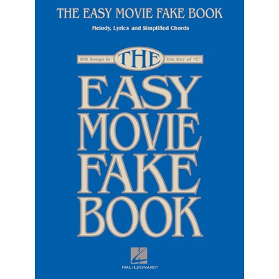 Music Easy Movie Fake Book