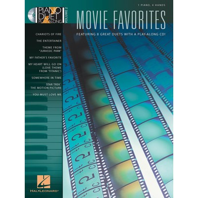 Music Piano Duet Play Along 2 - Movie Favorites