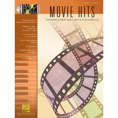 Music Piano Duet Play Along 13 - Movie Hits w/CD
