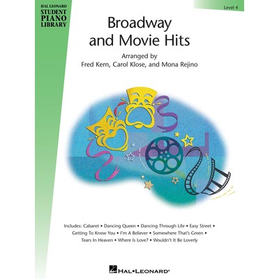 Music Broadway & Movie Hits Level 4 (RCM Pop 3-4-5)