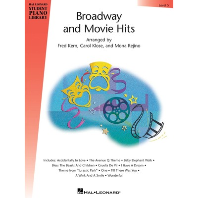 Music Broadway & Movie Hits Level 5 (RCM Pop 5-6)