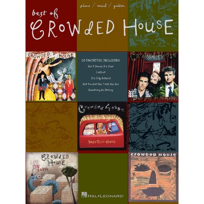 Music Crowded House - Best of (PVG)