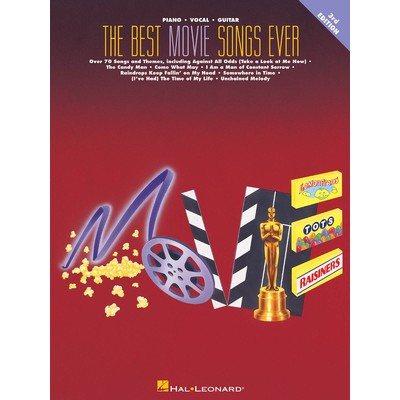 Music Best Movie Songs Ever - 2nd Ed (PVG) - Hal Leonard - 00310063
