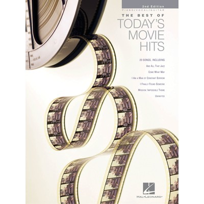 Music Best of Todays Movie Hits - Hal Leonard