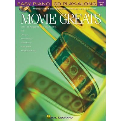 Music Easy Piano Play Along 10 - Movie Greats (EP) - Hal Leonard - 00311106