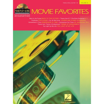 Music Piano Play-Along wCD Vol.17: Movie Favorites - Hal Leonard - 00311148