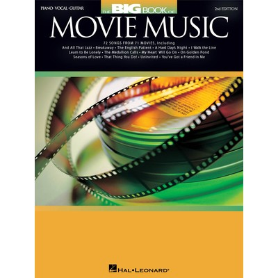 Music Big Book of Movie Music - 2nd Ed. (PVG)