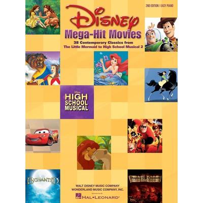 Music Disney Mega Hit Movies (EP) - Hal Leonard - 00316081